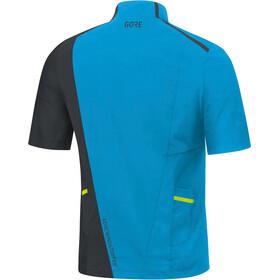 GORE WEAR R7 - T-shirt course à pied Homme - bleu/noir